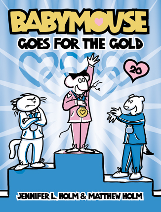 Babymouse goes for the gold. #20