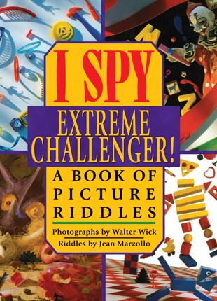 I spy extreme challenger! : a book of picture riddles