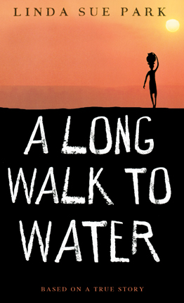 The open book a long walk to water by linda sue park