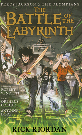Battle of the Labyrinth : the graphic novel