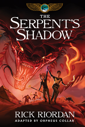 Serpent's shadow : the graphic novel