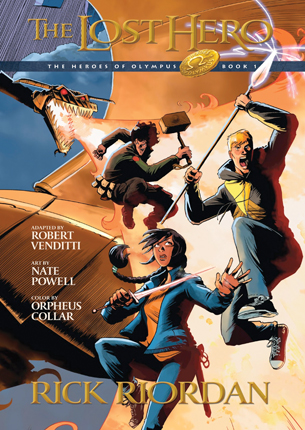 Lost hero : the graphic novel