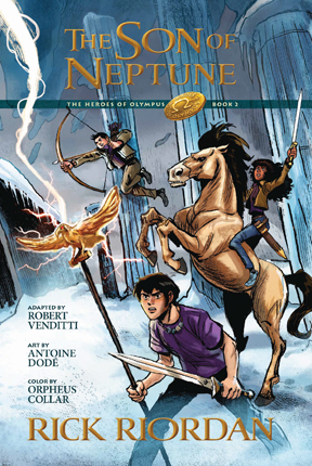 Son of Neptune : the graphic novel