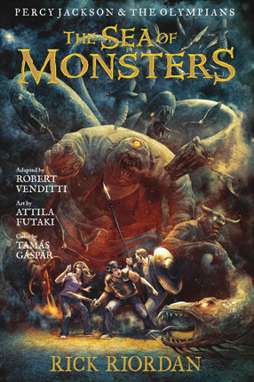 Sea of monsters : the graphic novel